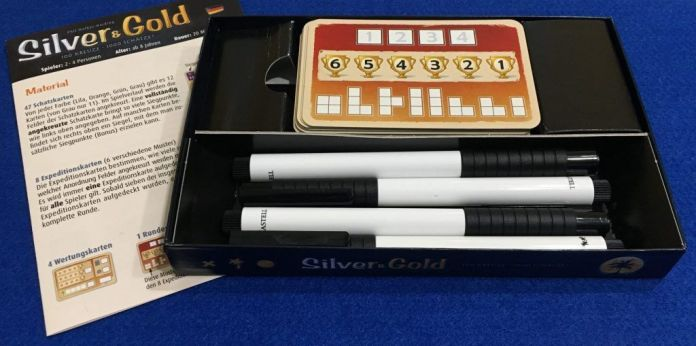 Silver & Gold - detalle caja