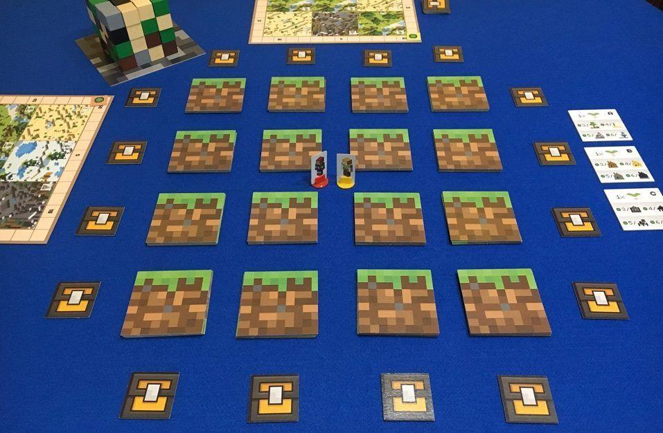 Minecraft disposición inicial