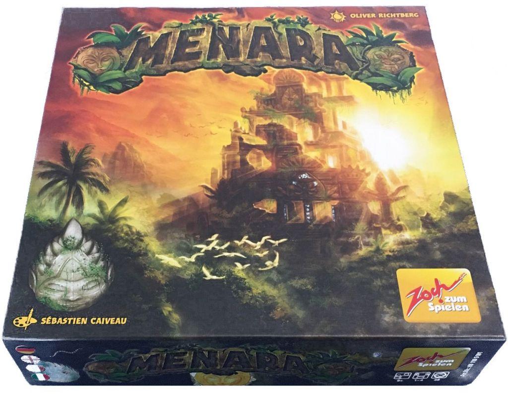 Caja del juego de mesa Menara