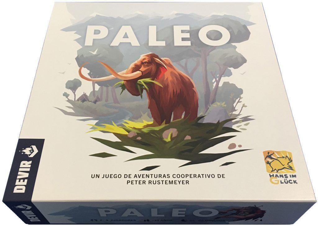 Paleo foto caja del juego