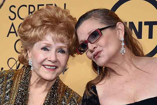 carrie fisher y debbie reynolds