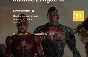 críticas a la liga de la justicia