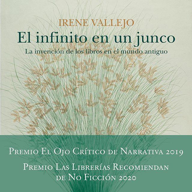 Otro nuevo galardón para EL INFINITO EN UN JUNCO! @edicionesiruela ...