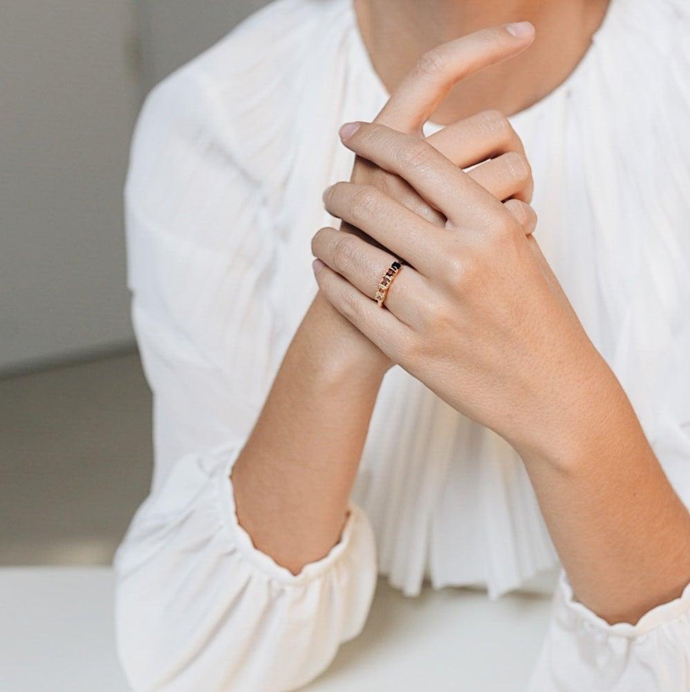 anillos de pedida y compromiso