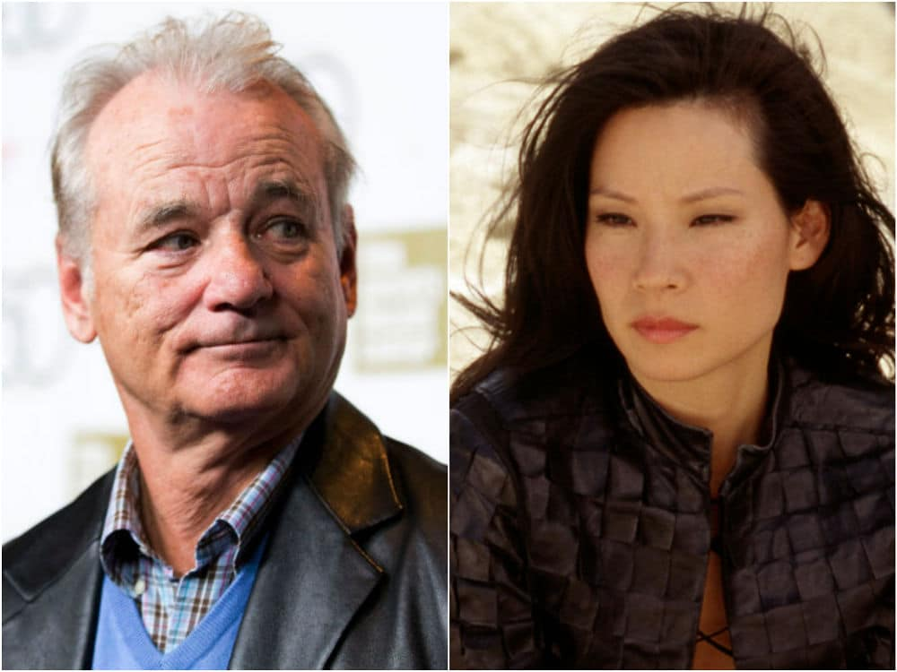 Bill Murray y Lucy Liu actores que se odian