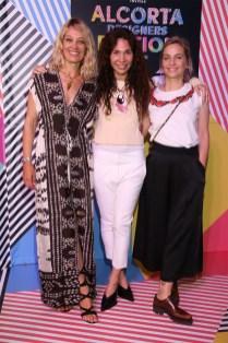 Sol Acuña, Maria Cher y Jazmín Chebar en el Alcorta Designers Edition By Amex