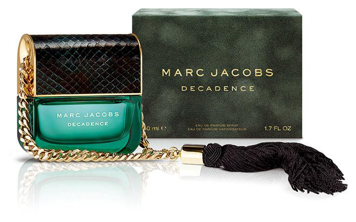 Decadence, la nueva fragancia de Marc Jacobs. Lujosa, sensual y amaderada. La musa de esta campaña fue la supermodelo Adriana Lima.