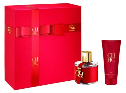 El Cofre CH de Carolina Herrera es ideal para agasajar en estas fiestas a mujeres sofisticadas y con un estilo impecable, con su fragancia CH en el emblemático frasco rojo acompañado de un body lotion. Precio: $2.040.