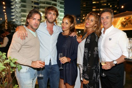 Los invitados, los grandes agasajados en la noche de El Planeta Urbano en el The Grand Hotel de Punta del Este.