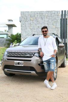 """Ezequiel """"Pocho"""" Lavezzi, uno de las estrellas invitadas por Jaguar y Land Rover."""
