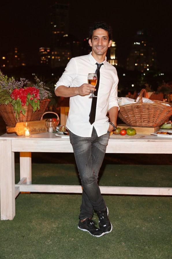 Juan Minujin en la nueva edicion de Le Savoir de Stella Artois