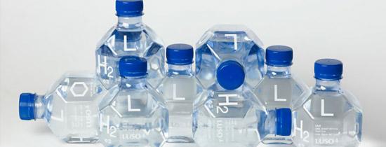 Botellas moléculas