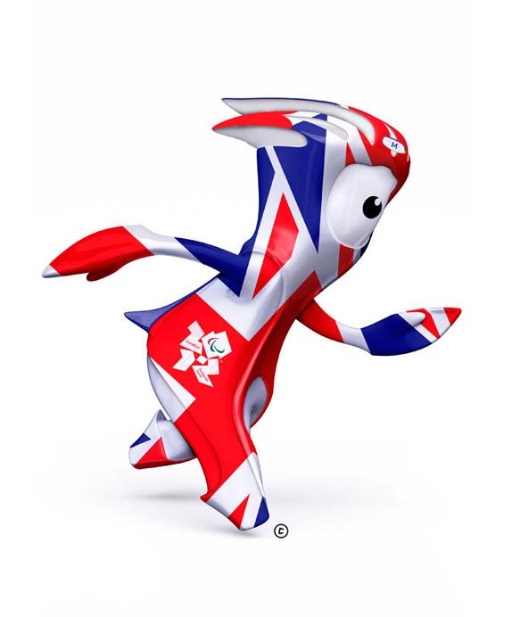 mascota olimpiadas londres 2012