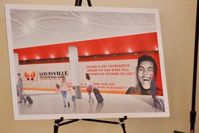 El aeropuerto regional de louisville ha cambiado su nombre por el de la leyenda Muhammad Ali
