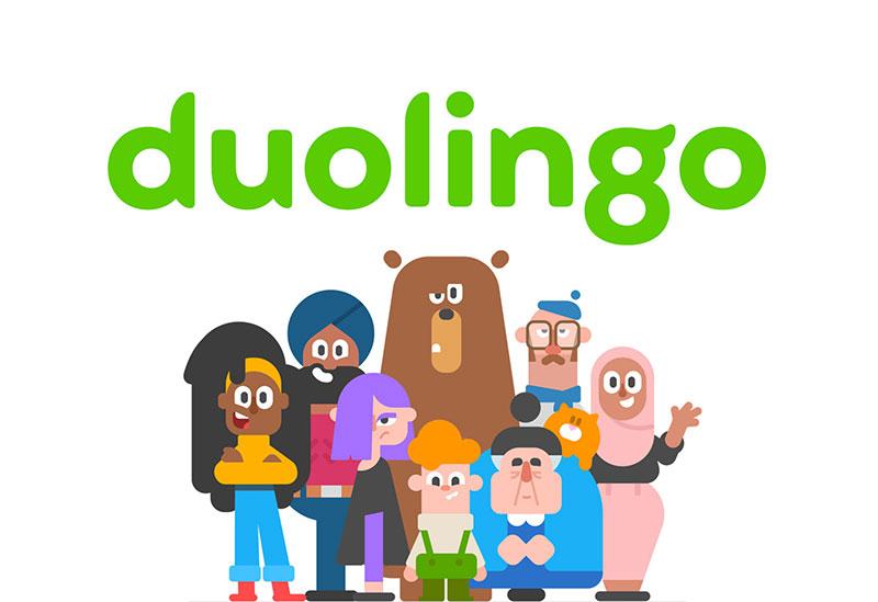 app duolingo nuevo wordmark