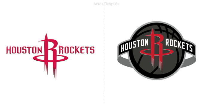 NBA: Nuevo logotipo global para los rockets de Houston