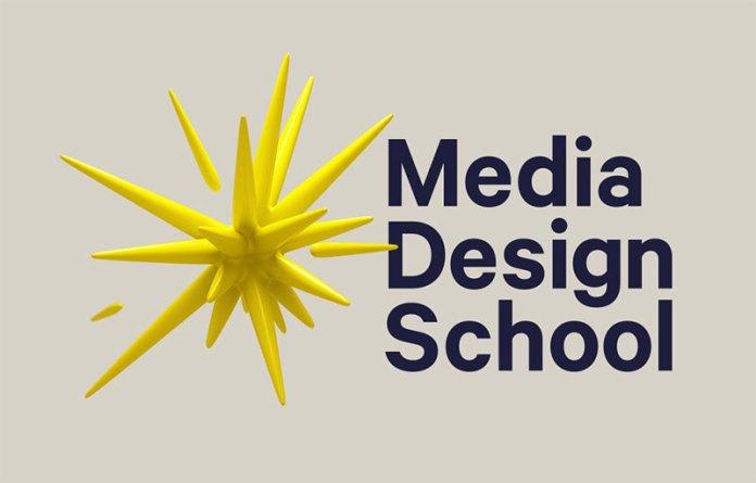 media design school nuevo logotipo