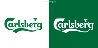Cerveza Carlsberg.