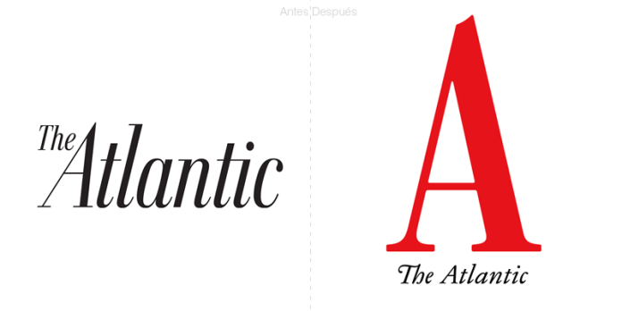 la revista the atlantic nuevo logotipo