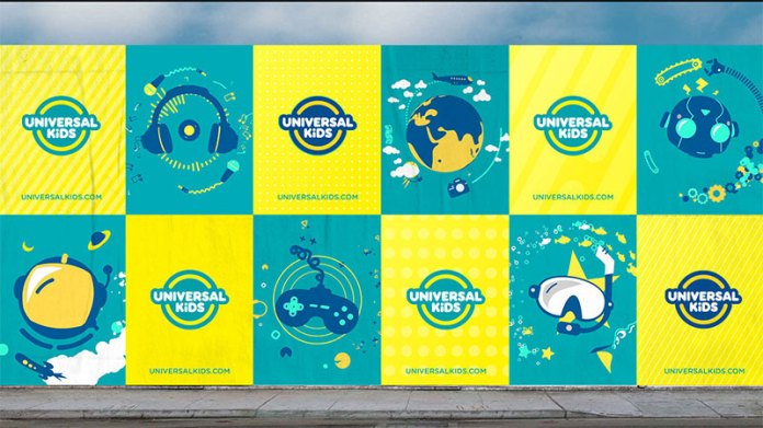 Nuevo logotipo para universal kids channel