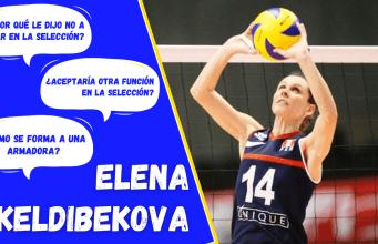 Elena Keldibekova Voley