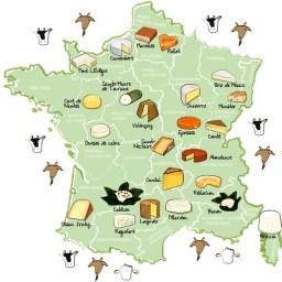 Quesos de Francia