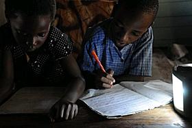Luz para los países pobres