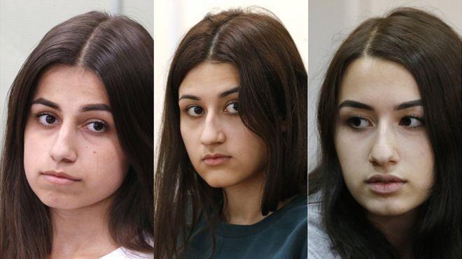 El caso de las 3 hermanas Khachaturyan que mataron a su padre tras años de abusos y que conmociona a Rusia
