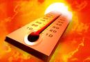 Intenso calor y lluvias fuertes se pronostican para hoy