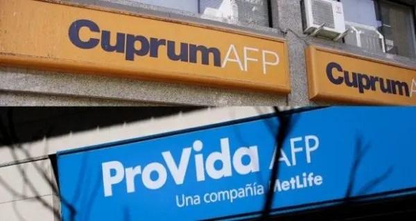 Sobre abandonar AFP Cuprum y Provida