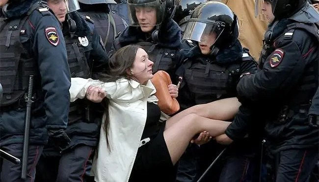 """Rusia: Las manifestaciones y el mito de la """"mayoría putiniana"""""""