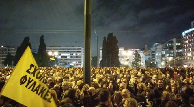 El gobierno griego de Syriza y la Unión Europea ultiman una austeridad más brutal