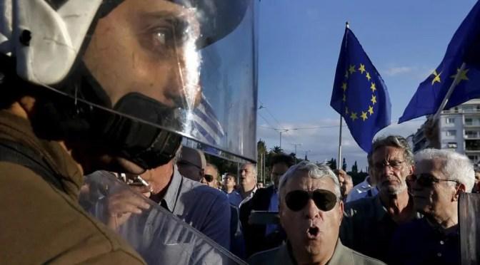 El gobierno griego de Syriza acuerda seguir las medidas de austeridad salvajes