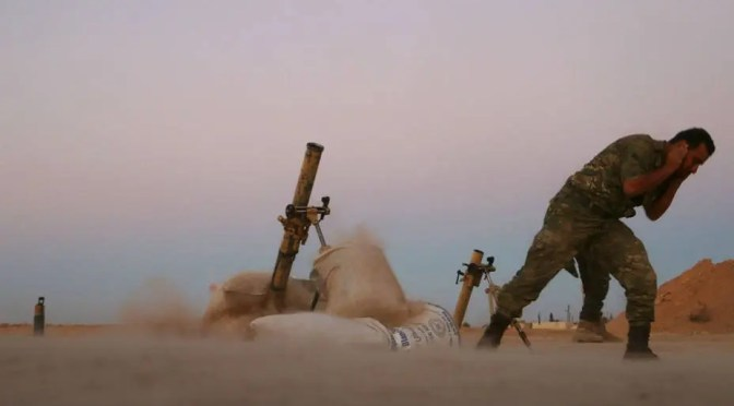 Estado Islámico a punto de ser derrotado: los imperialistas se preparan para la guerra