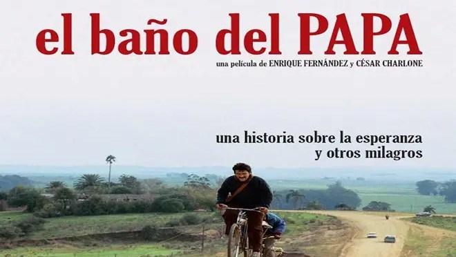 Película uruguaya: El baño del Papa