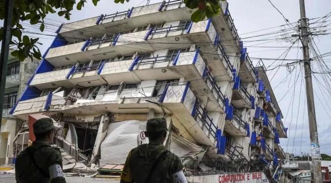 Aumenta la cifra de muertos por el terremoto en la Ciudad de México