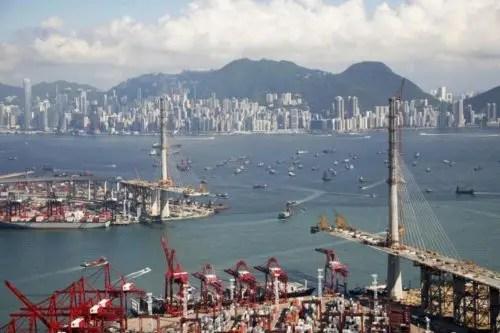 El puente de Hong-Kong y la estrategia de globalización China