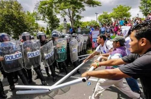 Nicaragua: la convulsión social y la lucha contra el imperialismo y la burguesía nacional