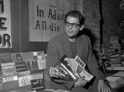 Allen Ginsberg, ícono de la generación Beat