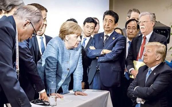 Estallan las tensiones entre EUA y Europa en la cumbre del G-7