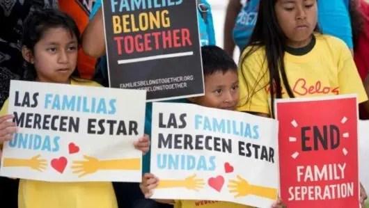 Creciente codena mundial hacia política de Trump de separación forzada de padres e hijos refugiados