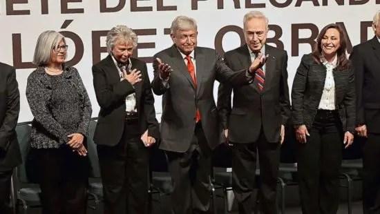 México: AMLO forma gabinete derechista