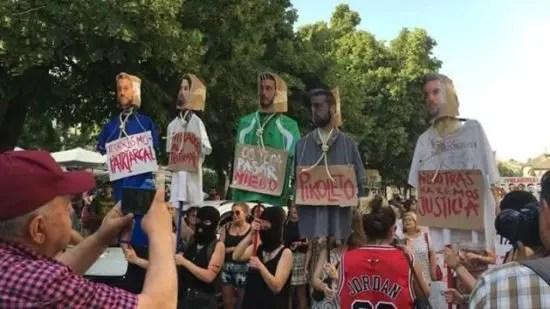 España: caso La Manada, justicia machista y burguesa