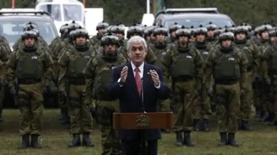 Piñera y su política criminal contra el pueblo mapuche