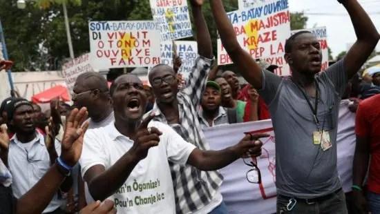 Haití sobre un polvorín