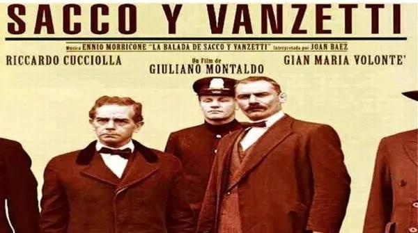 Cine: Sacco y Vanzetti