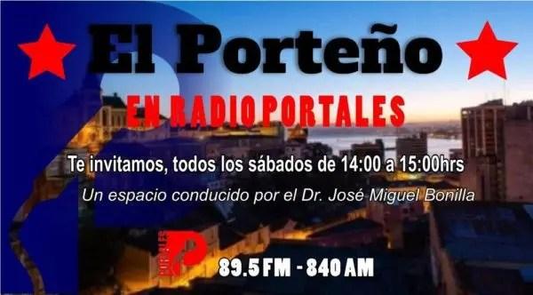 """""""Vencer el miedo y luchar contra Piñera"""" (Porteño en Portales, 3ª edición radial, 15.09.18)"""
