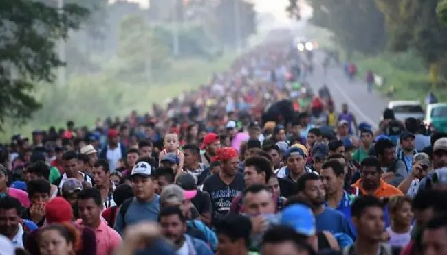 Solidaridad internacionalista con la caravana de migrantes