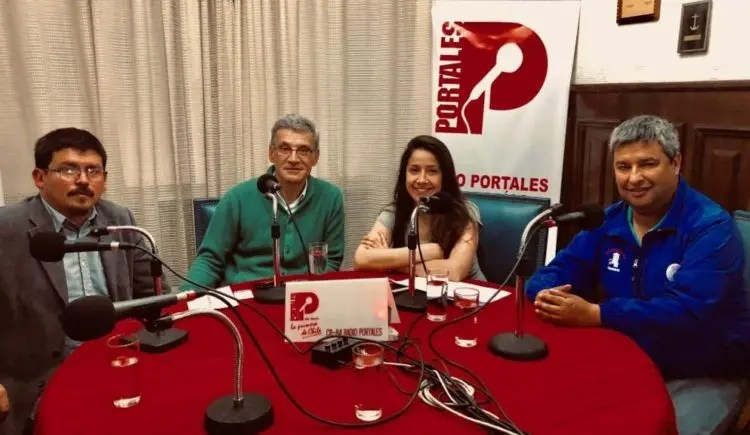 Jorge Sharp y los trabajadores del SITECOVA (El Porteño en Portales 11)