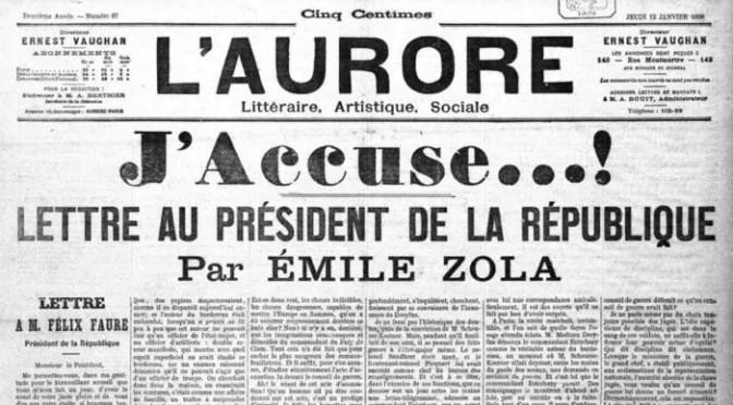 Un juicio para la historia: Yo acuso. El caso Dreyfus